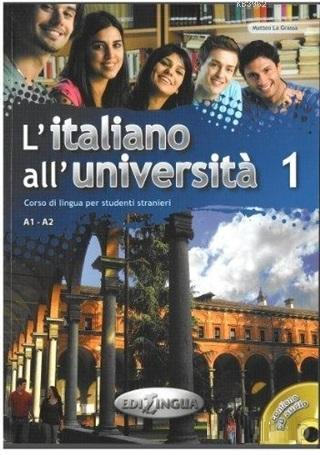 L'Italiano All' Universita 1 +CD (İtalyanca Temel ve Orta-Alt Seviye)