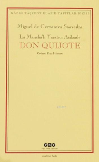 Don Quijote (2 Cilt, Kutulu); La Mancha'lı Yaratıcı Asilzade