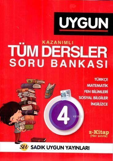 Sadık Uygun Yayınları 4. Sınıf Tüm Dersler Kazanımlı Soru Bankası Sadık Uygun