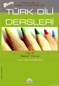 Türk Dili Dersleri 2 (MYO İçin)