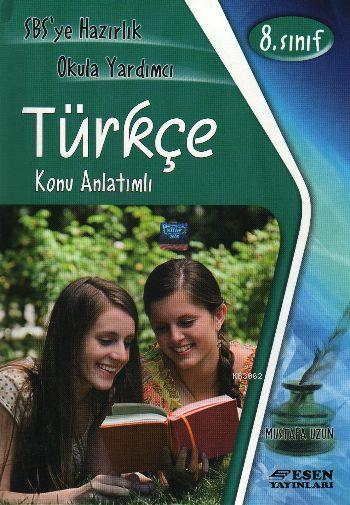 Esen Yayınları 8. Sınıf LGS Türkçe Konu Anlatımlı Esen
