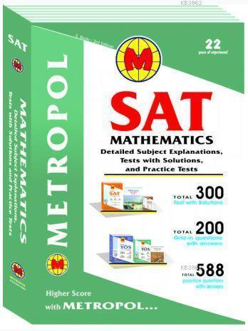 SAT Mathematics (Subject Explanations and Sample Questions)
