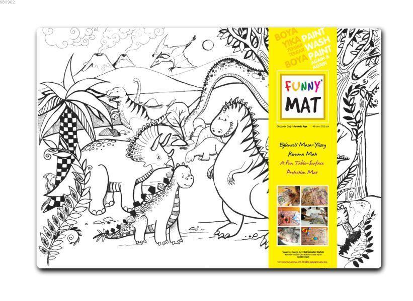 Funny Mat 1009 Dinozorlar Çağı