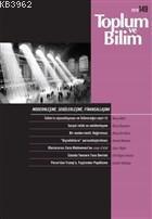 Toplum ve Bilim Dergisi Sayı: 149