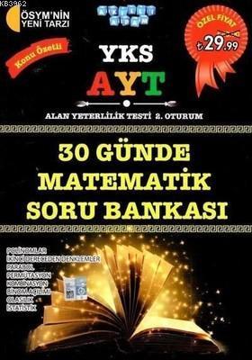 YKS AYT 30 Günde Matematik Konu Özetli Soru Bankası