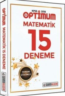 2018 KPSS Optimum Matematik Tamamı Çözümlü 15 Deneme