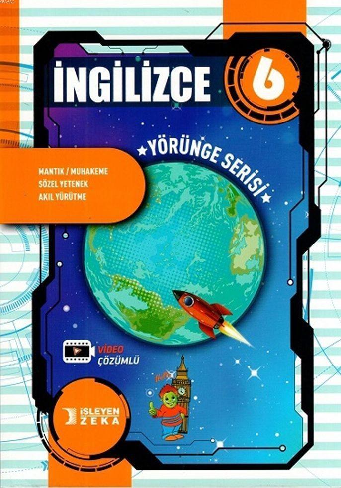 İşleyen Zeka Yayınları 6. Sınıf İngilizce Yörünge Serisi Soru Bankası İşleyen Zeka