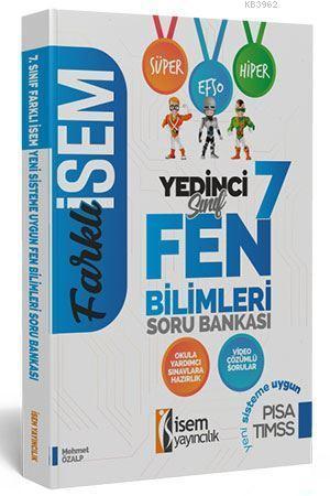 İsem Yayınları 7. Sınıf Fen Bilimleri Soru Bankası İsem