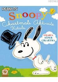 Snoopy Çıkartmalı Aktivite Kitabı