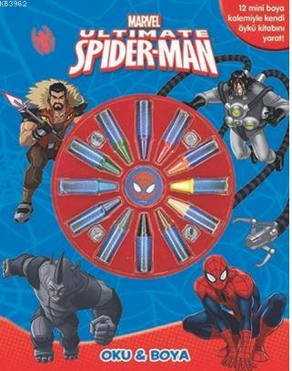 Marvel Ultimate Spider - Man : Oku ve Boya