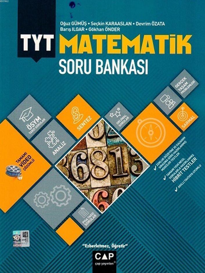 Çap Yayınları TYT Matematik Soru Bankası Çap