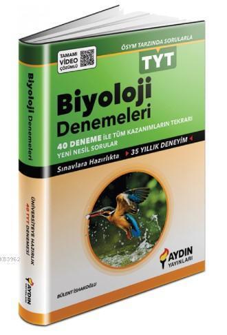 Aydın - Tyt Biyoloji 40 Deneme
