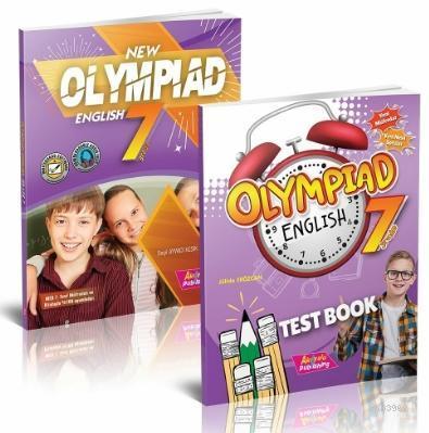 7 Sınıf Yeni Olimpiyat İngilizce; Test Kitabı 2 Kitap Set