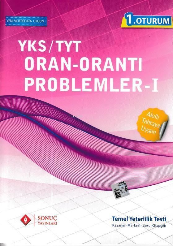 YKS-TYT 1. Oturum Oran Orantı Problemler 1