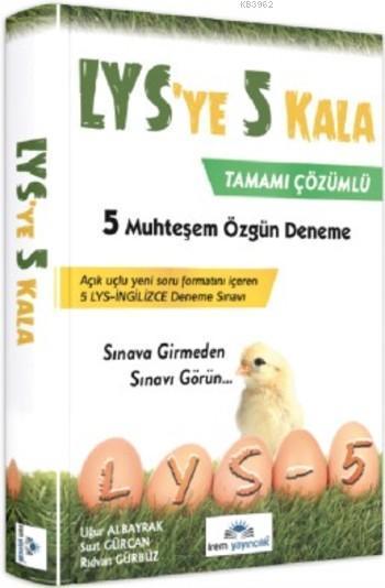 LYS'ye 5 Kala 5 Özgün Deneme Sınavı
