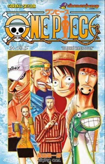 One Piece Cilt 34
