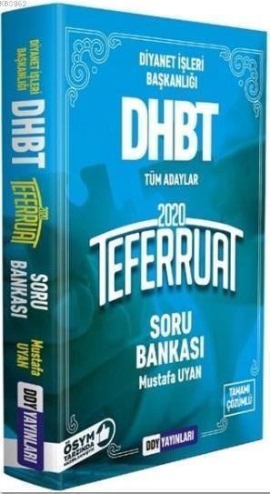 2020 DHBT Teferruat Serisi Tamamı Çözümlü Soru Bankası
