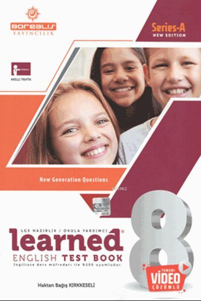 Learned English Test Book 8; Class 8 Series A - New Edition
