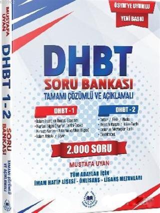 2018 DHBT Tamamı Çözümlü ve Açıklamalı Soru Bankası 1 - 2