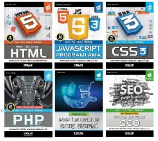 Php ile Web Programlama Seti 2 (6 Kitap)