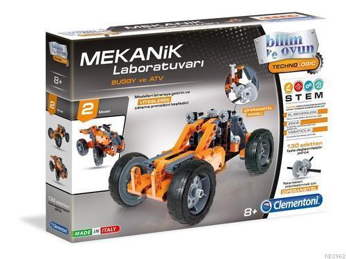 Clementoni 64300 Mekanik Laboratuvarı Buggy ve ATV