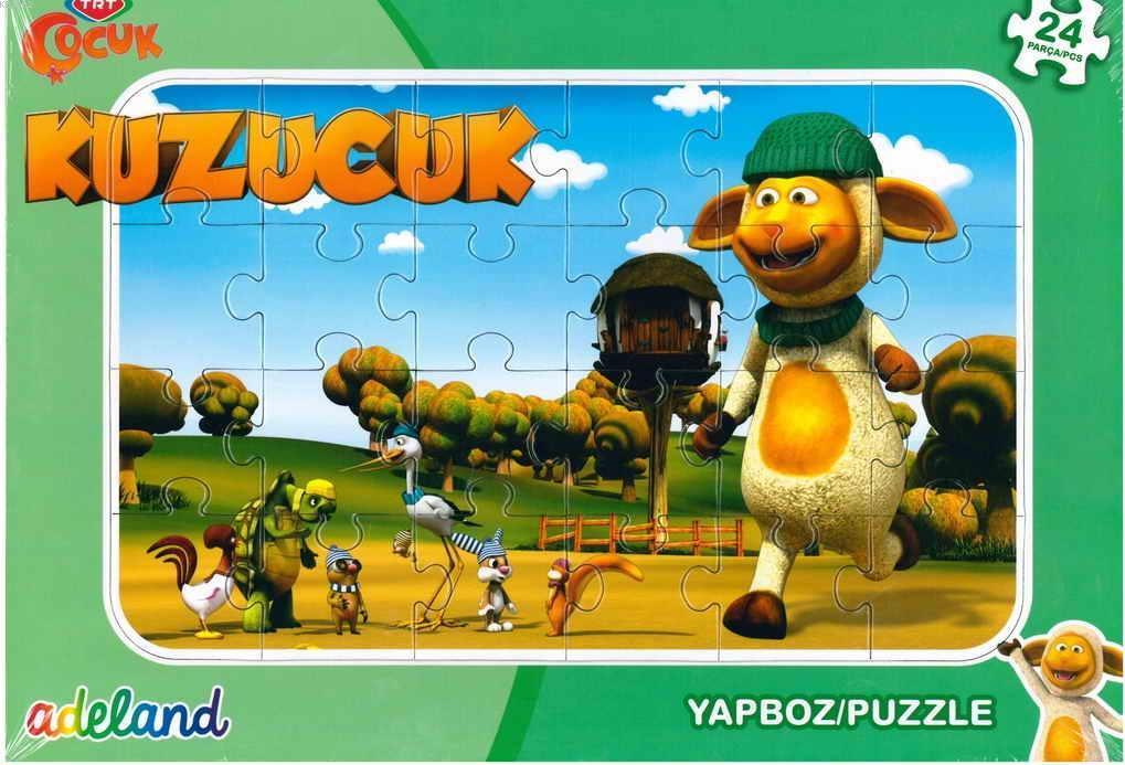 Trt Çocuk 24 Parça Kuzucuk Puzzle 201929