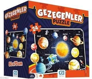 Gezegenler - Eğitici Yer Puzzle