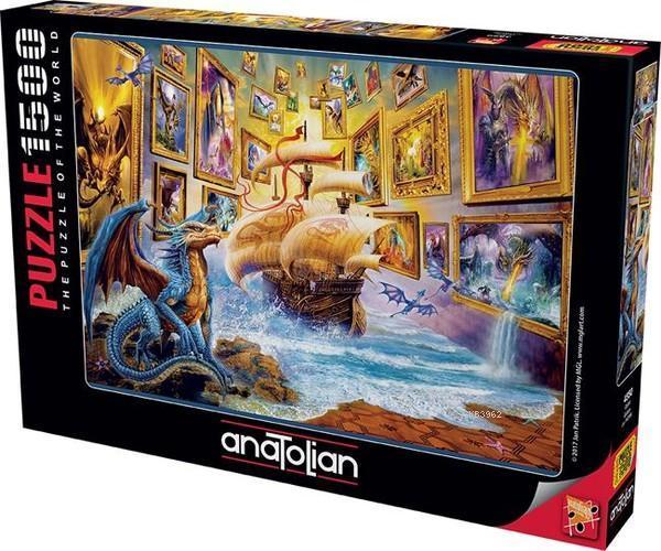 Anatolian Puzzle Galeri 1500 Parça 4550
