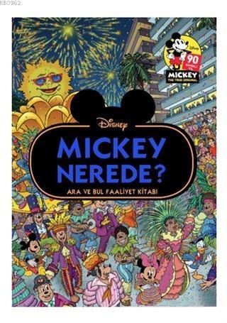 Disney Mickey Nerede?; Ara ve Bul Faaliyet Kitabı