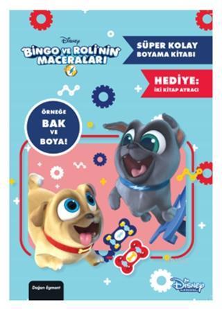 Disney Bingo ve Roli'nin Maceraları - Süper Kolay Boyama Kitabı