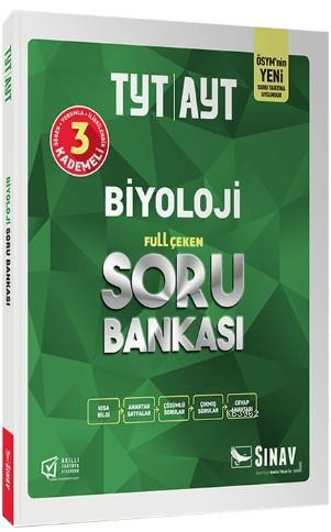 Sınav Dergisi Yayınları TYT AYT Biyoloji Full Çeken Soru Bankası Sınav Dergisi