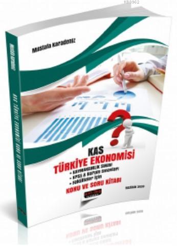 KAS Türkiye Ekonomisi Konu ve Soru Kitabı Savaş Yayınları 2020