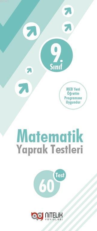 Nitelik Yayınları 9.Sınıf Matematik Yaprak Test ( 60 Test )