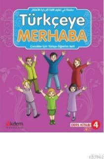 Türkçeye Merhaba A2-2 Ders Kitabı + Çalışma Kitabı; (Ders Kitabı 4)