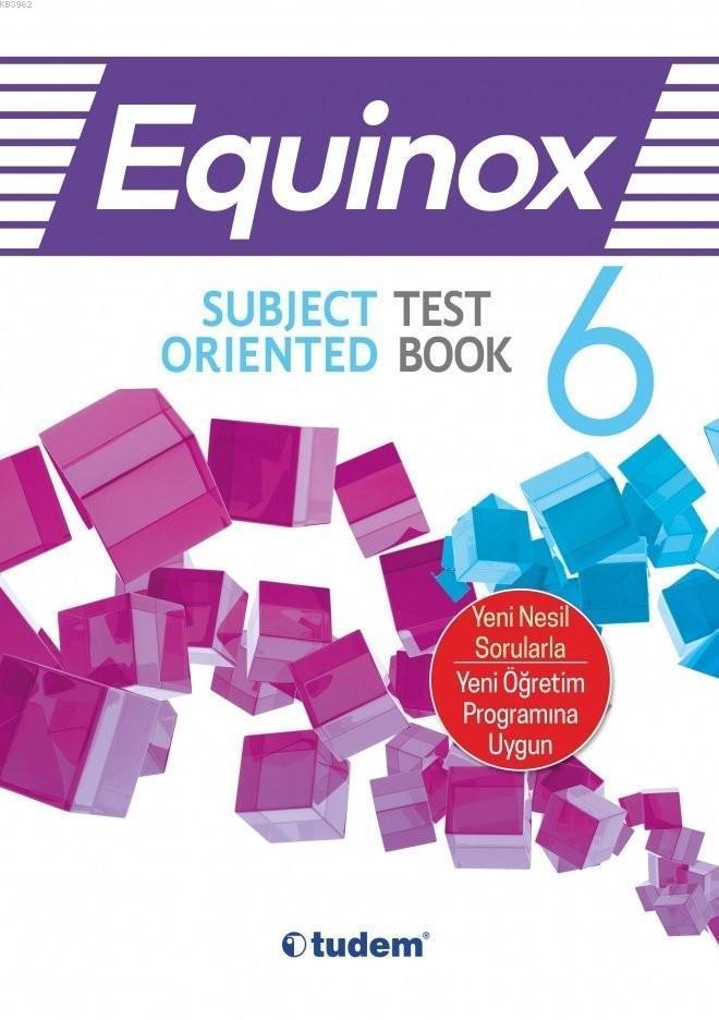 Tudem Yayınları 6. Sınıf Equinox Subject Oriented Test Book Tudem