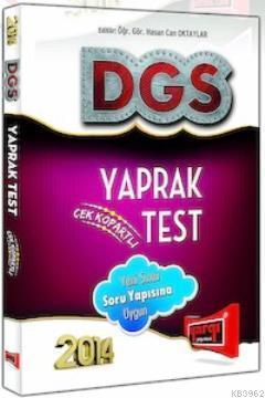 DGS Yaprak Test Çek Kopartlı