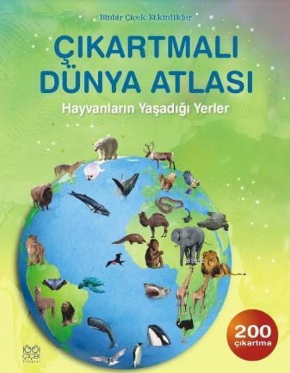 Çıkartmalı Dünya Atlası; Hayvanların Yaşadığı Yerler