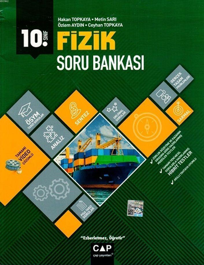 Çap Yayınları 10. Sınıf Anadolu Lisesi Fizik Soru Bankası Çap