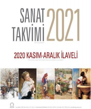 Sanat Takvimi 2021 Duvar Takvimi