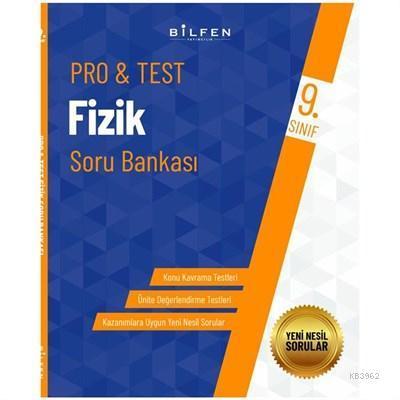 Bilfen Yayıncılık 9. Sınıf Pro&Test Fizik Soru Bankası