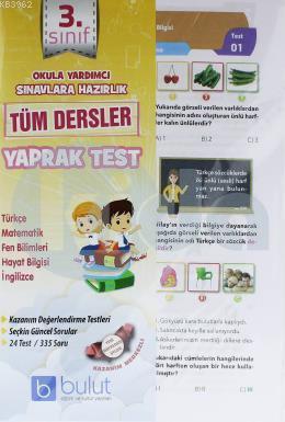 3.Sınıf Tüm Dersler Yaprak Test