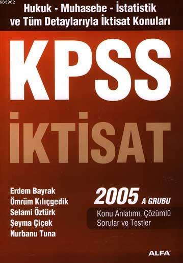 Kpss İktisat 2005 A Grubu
