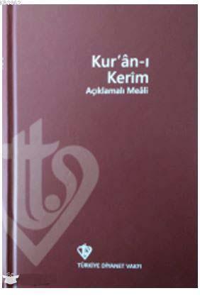 Kuranı Kerim Açıklamalı Meali Orta Boy