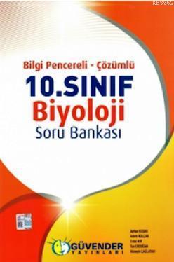 10. Sınıf Biyoloji Soru Bankası ( Bilgi Pencereli - Çözümlü)