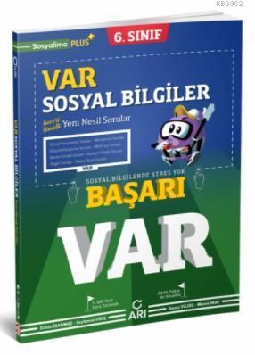 Arı Yayıncılık 6.Sınıf Var Sosyal Soru Bankası