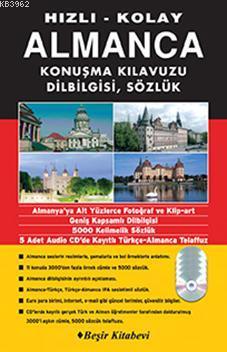 Hızlı & Kolay Almanca Konuşma Kılavuzu (1 Kitap 5 Cd)