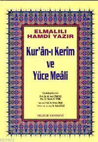 Kuran-ı Kerim ve Yüce Meali - Orta Boy; Hafız Osman Hatlı