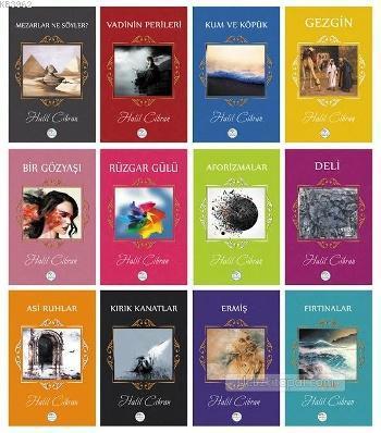Halil Cibran Kitapları Seti (12 Adet)