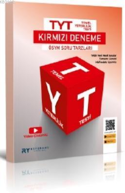 2021 TYT Tamamı Video Çözümlü Tek Fasikül Genel Deneme Kırmızı