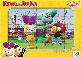 Limon İle Zeytin - Frame Puzzle 2 (35 Parça)